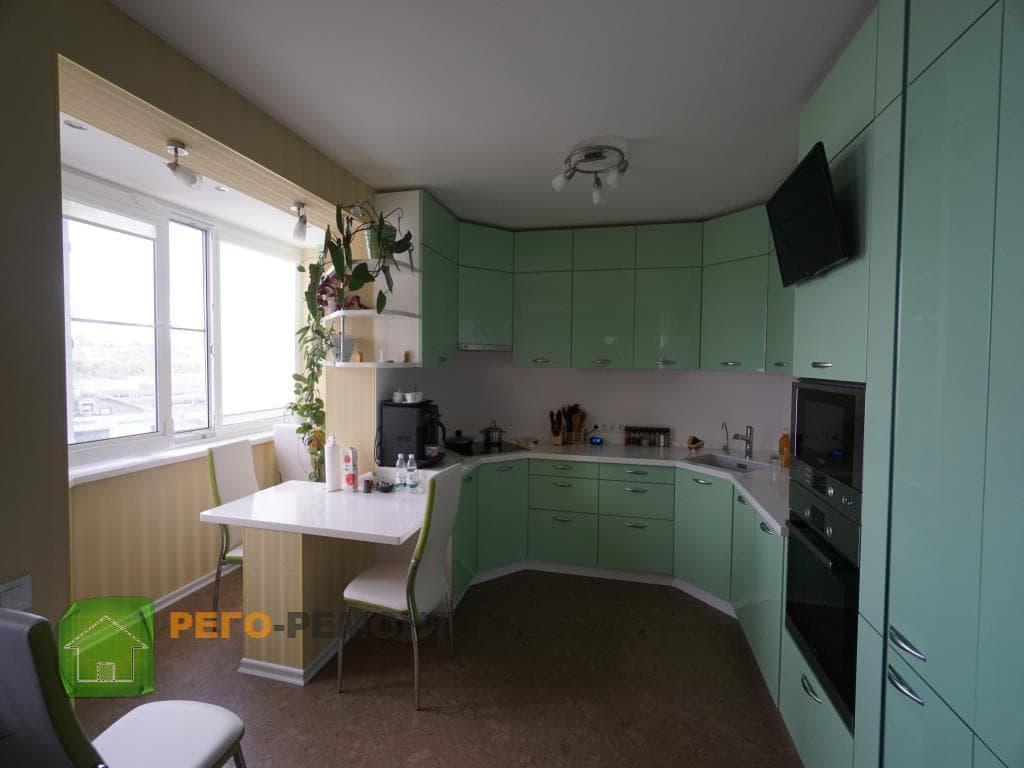 Дизайн однокомнатной квартиры - интерьер гостиной